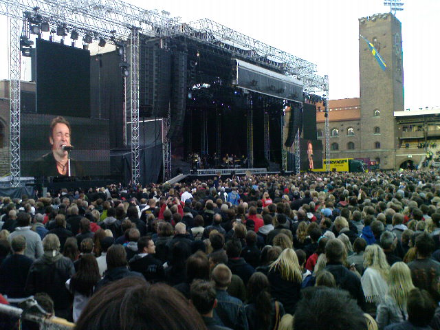 The Boss - Stockholm 2009